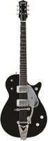 GRETSCH  G6128T DUO JET ELECTRIC GUITAR EBONY Guitar World AUSTRALIA Ph 07 55962588