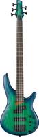 Ibanez SR655 5-string - Surreal Blue Burst Shop online at Guitar World Australia
