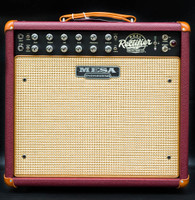 Mesa Boogie Recto-Verb 25 - British Cabernet Cream Jute Grill - Custom Design