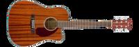 Fender CD-140SCE, Deadnought - All Mahogany