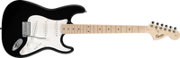 FENDER SQUIER Affinity Stratocaster, Maple Fingerboard, Black