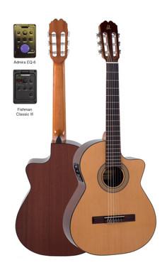 Admira Malaga EC Classical Electric Guitar
