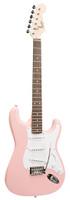 FENDER SQUIER BULLET STRAT WITH TREMOLO, PINK Guitar World AUSTRALIA PH 07 55962588