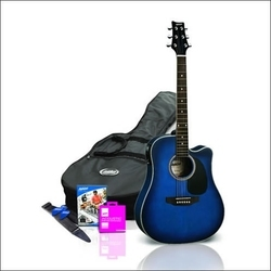 shop online for ashton d25ceq acoustic guitar w pickup starter pack in australia acoustic. Black Bedroom Furniture Sets. Home Design Ideas