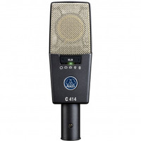 AKG C414 XLS Large-diaphragm Condenser Microphone with Nine Switchable Polar Patterns