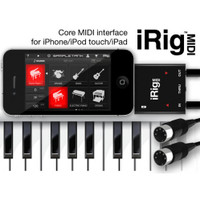 iRig MIDI Core MIDI interface for iPhone/iPod Touch/iPad