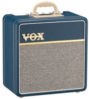 Shop online now for Vox AC4C1BL AC4 Blue 4w Class A Valve Amp. Best Prices on Vox in Australia at Guitar World.