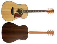 FL3E-BR   Bunya Top with Indian Rosewood Back and Sides.