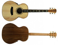 Cole Clark Angel 3 AN3E-BB Bunya Face Blackwood back & sides & 3 way pickup