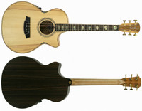 Cole Clark Angel 3 AN3EC-BR Bunya Face Rosewood back & sides, cutaway & 3 way pickup
