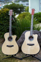 MATON CUSTOMSHOP COCOBOLO DREADNAUGHT ACOUSTIC/ELECTRIC GUITAR Guitar World AUSTRALIA PH 07 55962588