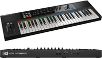 Native Instruments Komplete Kontrol S-Series S49 49 key Controller Keyboard Guitar World Australia Ph 07 55962588