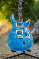 PRS 30th Anniversary 63# Final Run Custom 24 - Faded Blue Jean