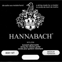 Hannabach, Special, Silver, Plated, 800M, Medium, Tension, Nylon, Classical, Guitar, Strings
