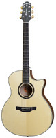 Crafter GAE650TM Solid Engelmann Spruce and Tiger Maple Acoustic Electric