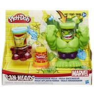Play-Doh Can Heads Marvel Smashdown Hulk