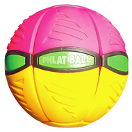 Phlat Ball V3 in Pink/Yellow by Britz n Pieces
