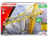 Meccano Motorised Tower Crane Construction Set with remote