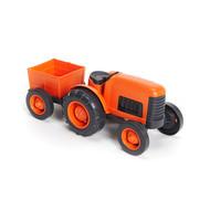 Green Toys - Tractor - Orange