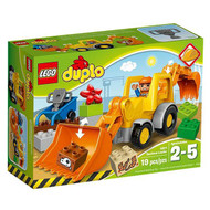 Lego Duplo Backhoe Loader