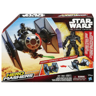 """Star Wars VII Hero Mashers 6"""" Action Figure Attack Vehicles - TIE Fighter Vehicle and Pilot Action Figure"""