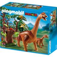 Playmobil Dinos Brachiosaurus with Baby
