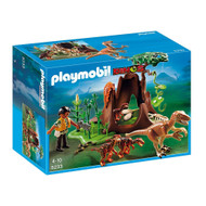Playmobil Dinos Deinonychus and Velociraptors