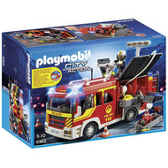 Playmobil Fire Engine with Lights and Sound