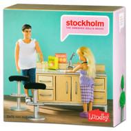 Stockholm Kitchen Bar Set by Lundby