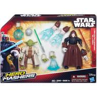 "Star Wars VII Hero Mashers 6"" Action Figure Battle Pack - Yoda vs Emperor Palpatine"