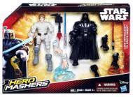 "Star Wars VII Hero Mashers 6"" Action Figure Battle Pack - Luke Skywalker vs Darth Vader"