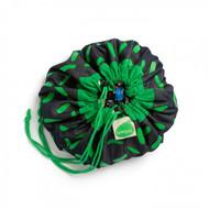 Bitty Brikbag Green Dash Print