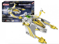 Meccano Space Chaos 4104A - Silver Force Phoenix Corvette