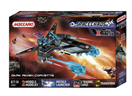 Meccano Space Chaos 4104B - Dark Pirates Raven Corvette