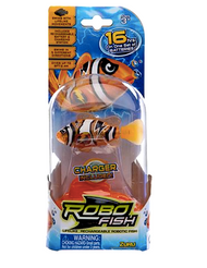 Robo Fish Clown Fish - Rechargeable Robotic Fish by Zuru