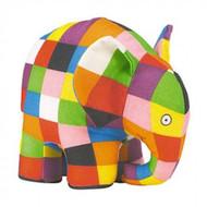 Elmer the Patchwork Elephant 20cm Plush