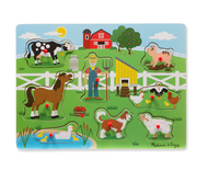 Old MacDonald Farm Sound Puzzle - 8pc by Melissa & Doug