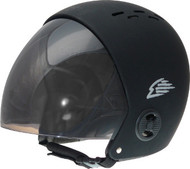 Gath Full Retractable Visor Helmet - Black