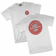 Sex Wax Mens Regular Short Sleeve Quickhumps Tee in White/Red