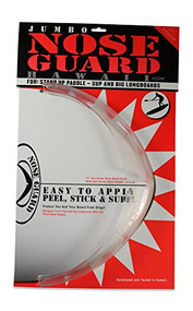 Surfco Jumbo SUP Nose Guard Kit in Clear