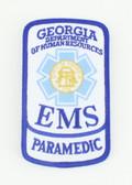 Georgia EMS Patch - Paramedic Rocker
