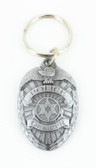 Police Badge Keychain