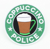 Coppuccino Police Patch