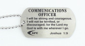 Communications Officer Dog Tag