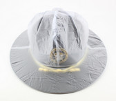 Campaign Hat Rain Cover - Translucent Clear