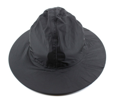 Campaign Hat Rain Cover Black Red Dog Outfitters