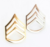 Staff Sergeant Rank Chevron - Collar Insignia
