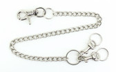 "Key Chain - Heavy Duty Double Key - 3/8"" Link x 20"" Long"