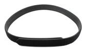 """Leather Basketweave Inner Duty Belt with Loop - 1.5"""""""