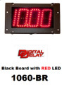 Digital Delay MEGA DIAL V2 Black Single View RED LED Dial In Board 1060-BR